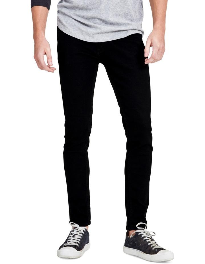 Jack and Jones Liam Skinny Jeans in Black
