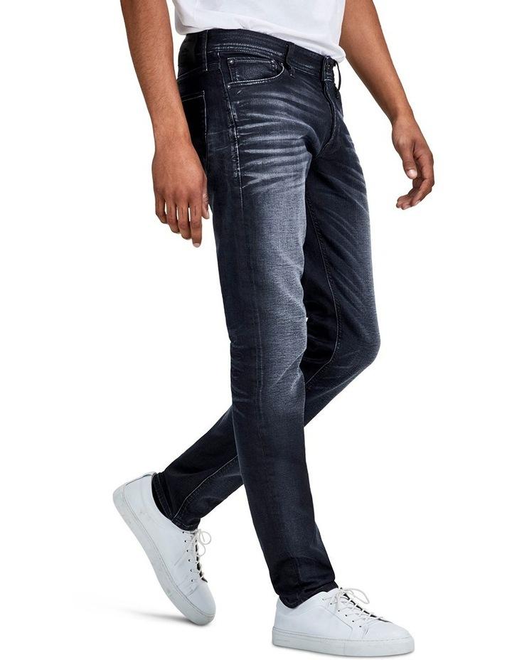 Glenn Jos 745 Slim Fit Indigo Knit Jeans image 3