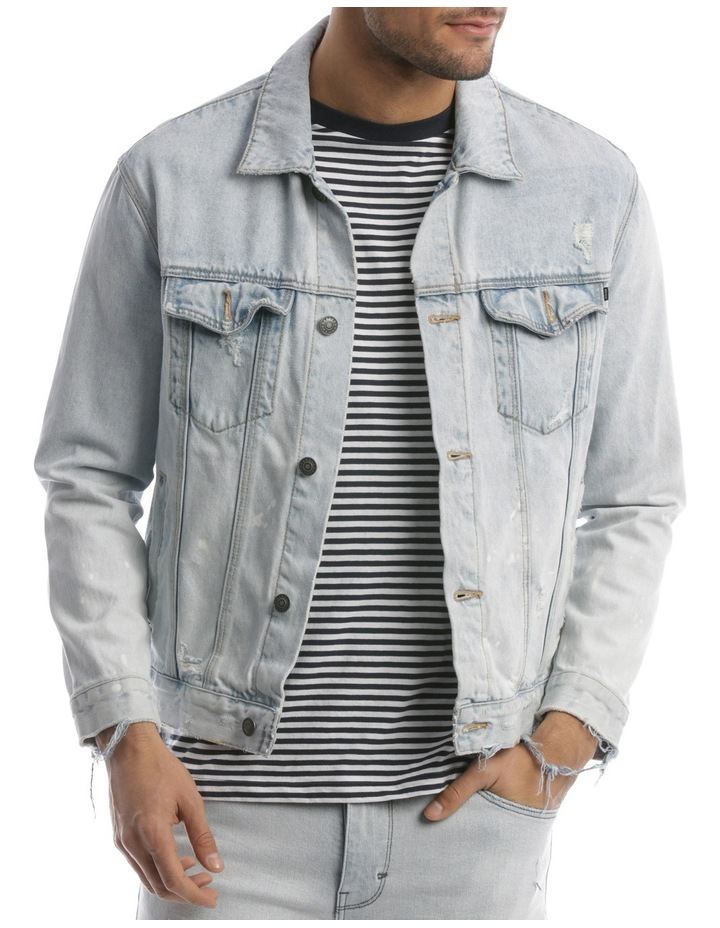A Dropped Denim Jacket image 1