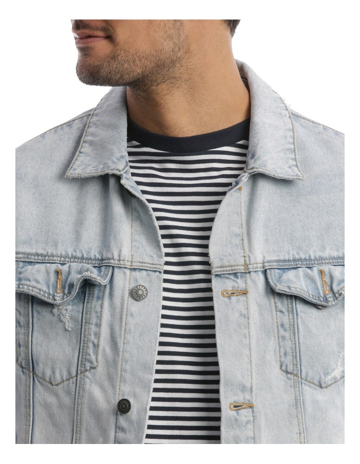 A Dropped Denim Jacket image 4