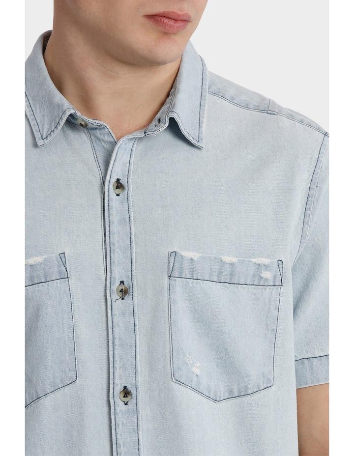 A Ss Trash Denim Shirt image 4