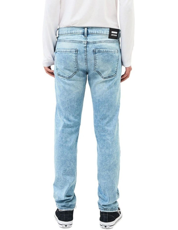 SNAP SKINNY JEANS image 2