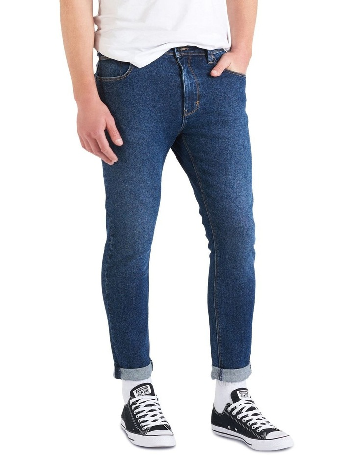 A Dropped Skinny Turn Up Jeans image 2