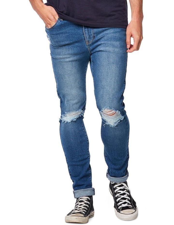 R1 Skinny Jean Outland Blue image 1