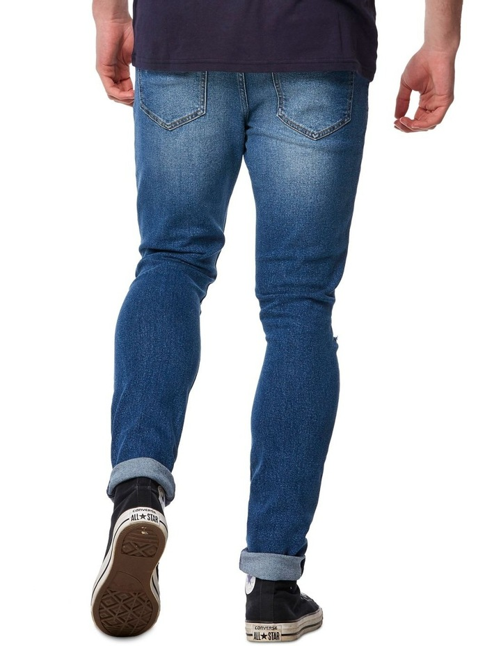 R1 Skinny Jean Outland Blue image 4