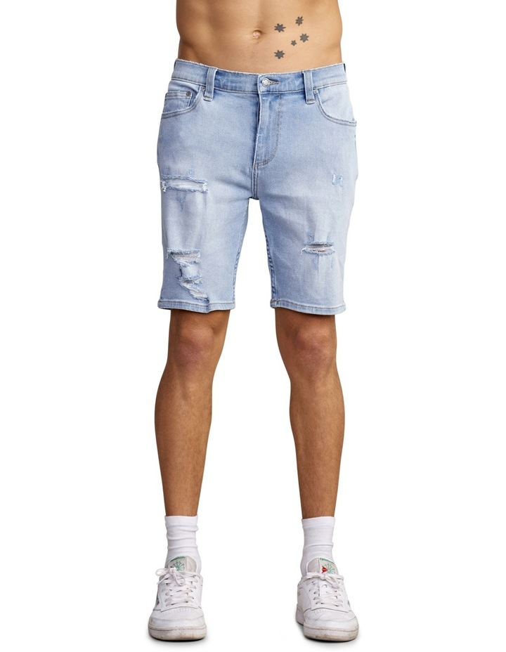 Denim Stinger Shorts image 1