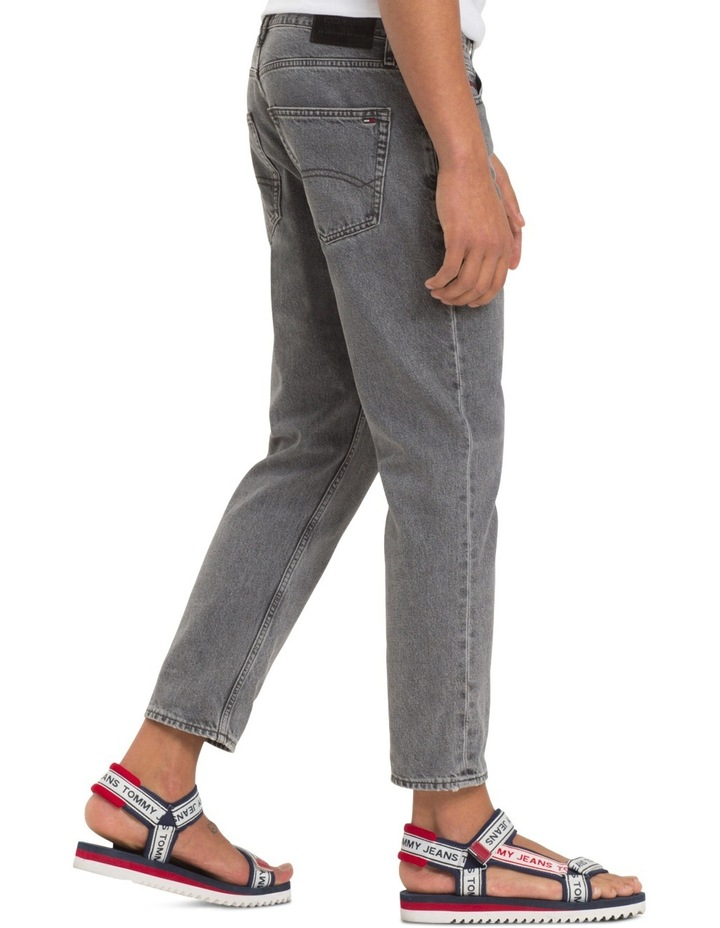 Relaxed Fit Cropped Denim Jeans image 5