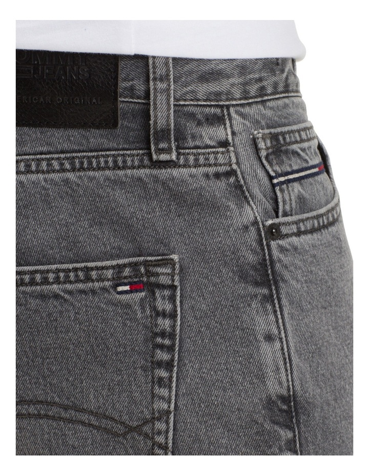 Relaxed Fit Cropped Denim Jeans image 7