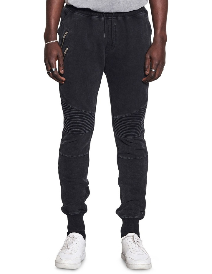 Bleecker Jogger Pant With Moto Knee Design image 2
