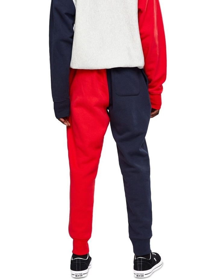 Reverse Weave Jogger Colour Block image 2