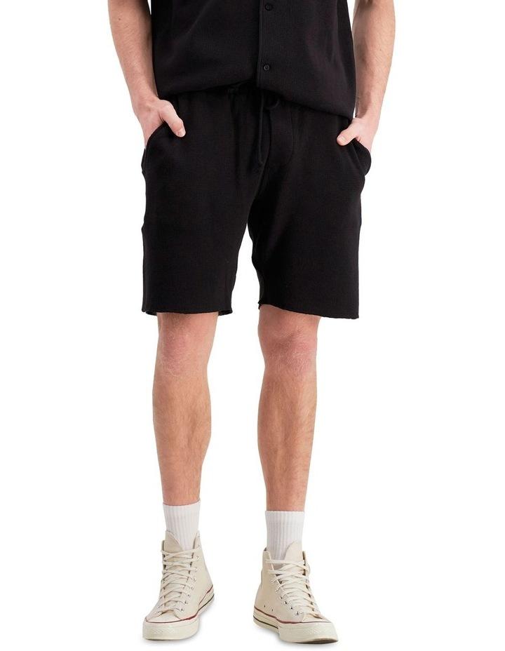Re:Bound Waffle Shorts Black image 1