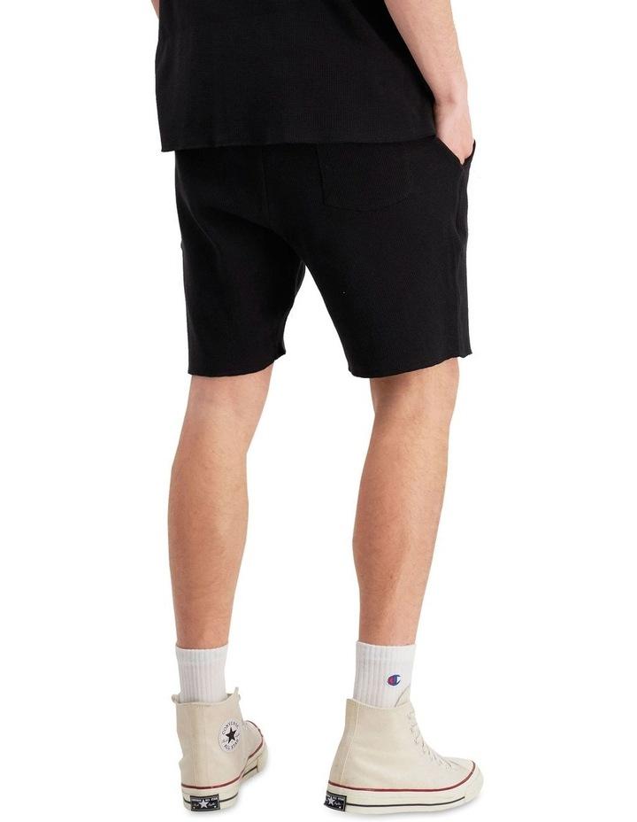 Re:Bound Waffle Shorts Black image 3