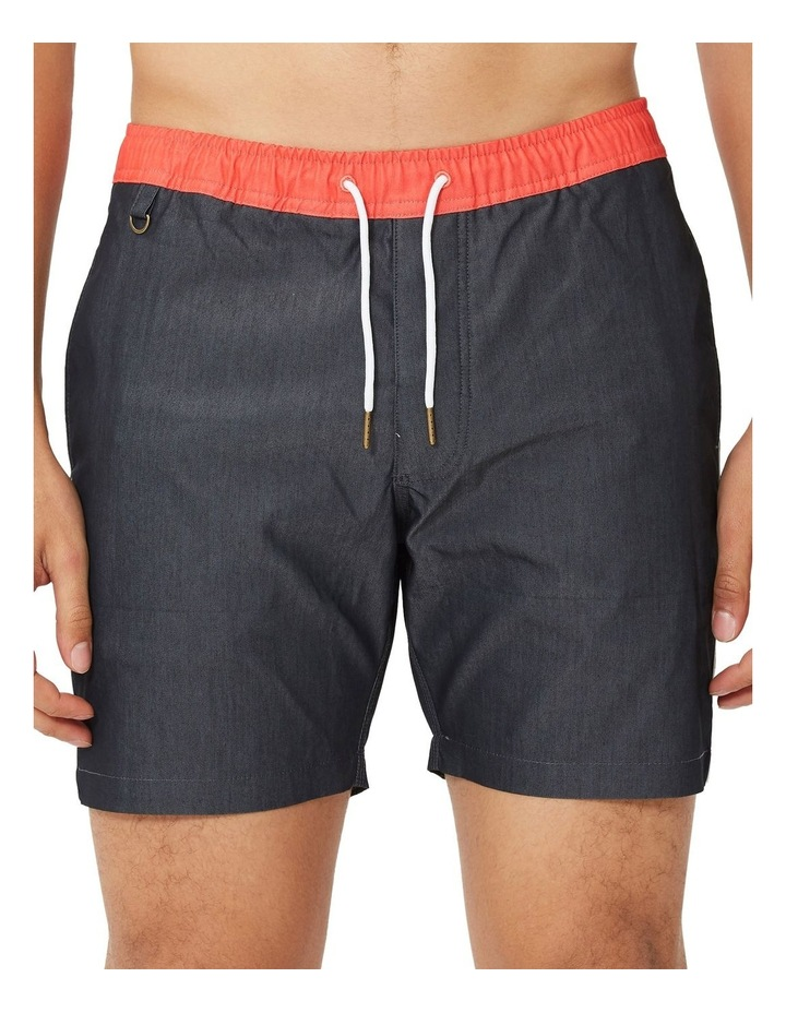 Fez Stripe Leg Swim Short image 1