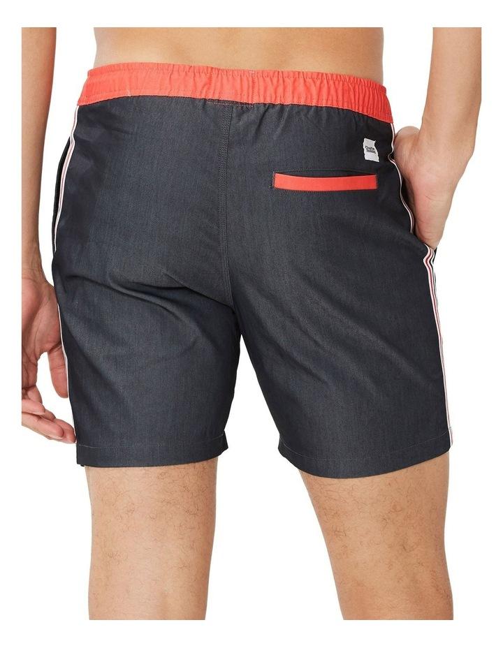 Fez Stripe Leg Swim Short image 3