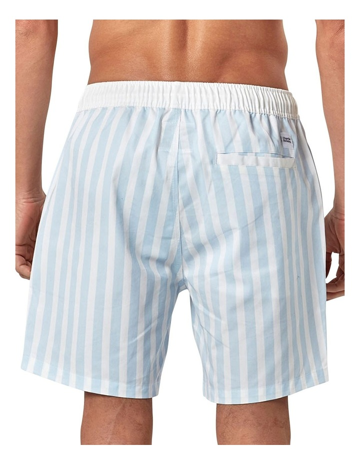 Retro Stripe Swim Short image 4
