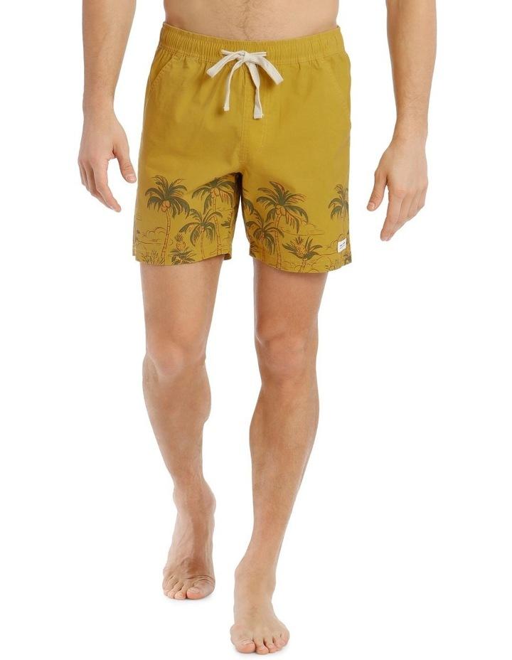 Greenery Boardshort - Gold image 1