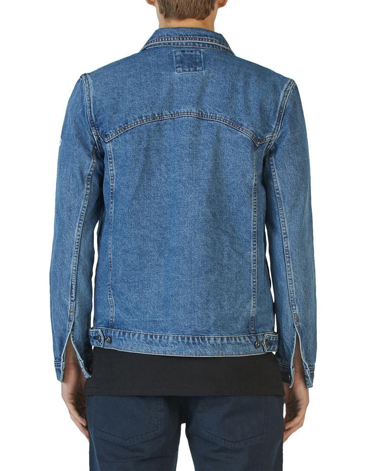 B.Rigid Denim Jacket Embo Blue Stone image 2