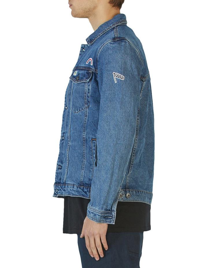 B.Rigid Denim Jacket Embo Blue Stone image 3