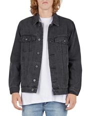 B.Rigid Denim Jacket