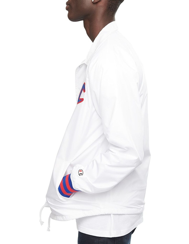 Satin Coaches Jacket Ribbed Cuff image 2