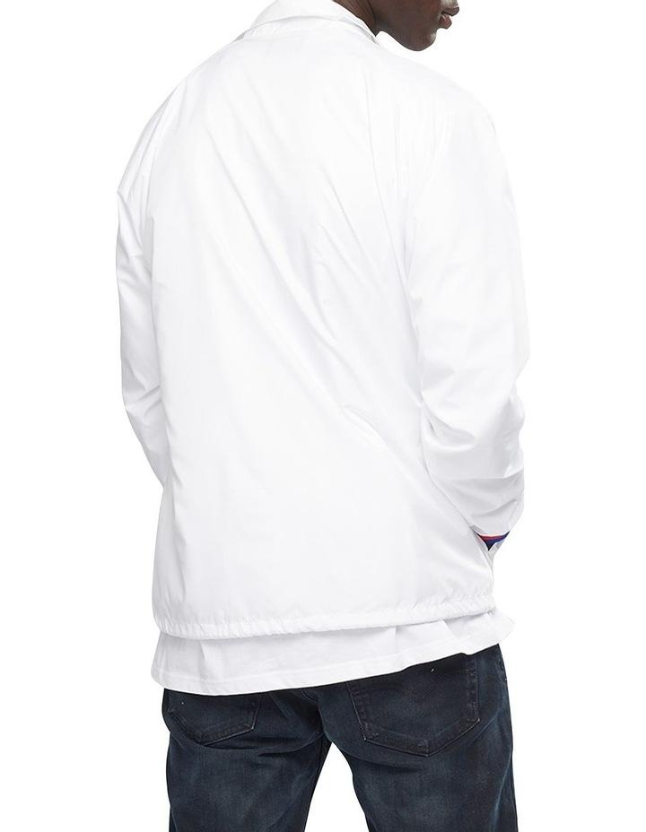 Satin Coaches Jacket Ribbed Cuff image 3