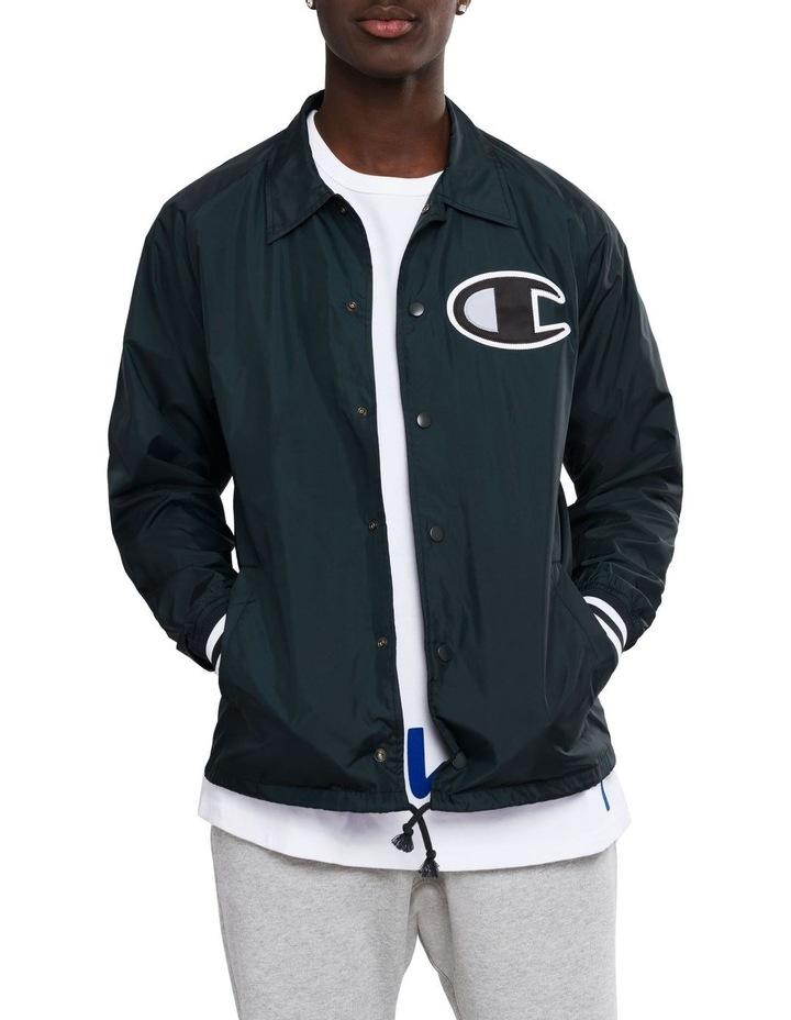 Coaches Jacket Ribbed Cuff image 1