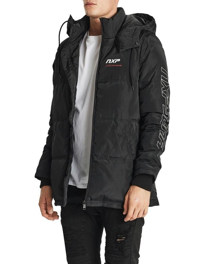 Paramount Long Line Puffer Jacket image 3
