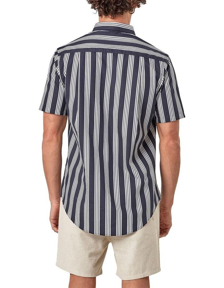 Short Sleeve Veritcal Stripe Shirt image 2