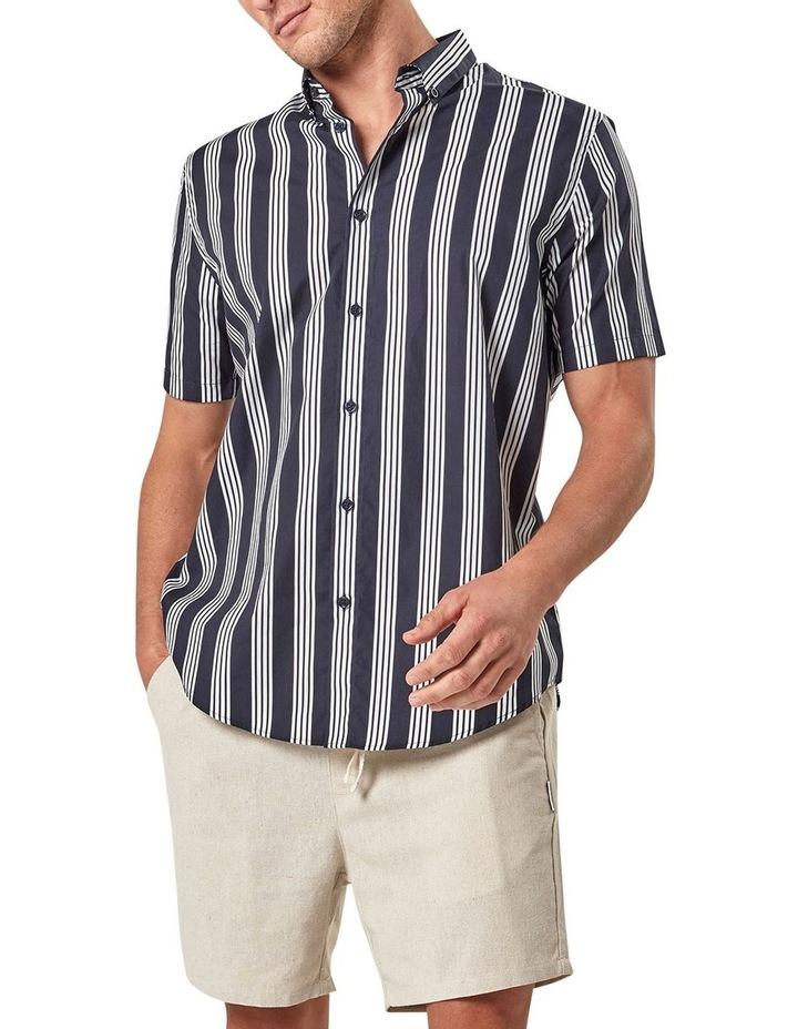 Short Sleeve Veritcal Stripe Shirt image 3