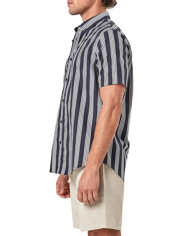 Short Sleeve Veritcal Stripe Shirt image 4