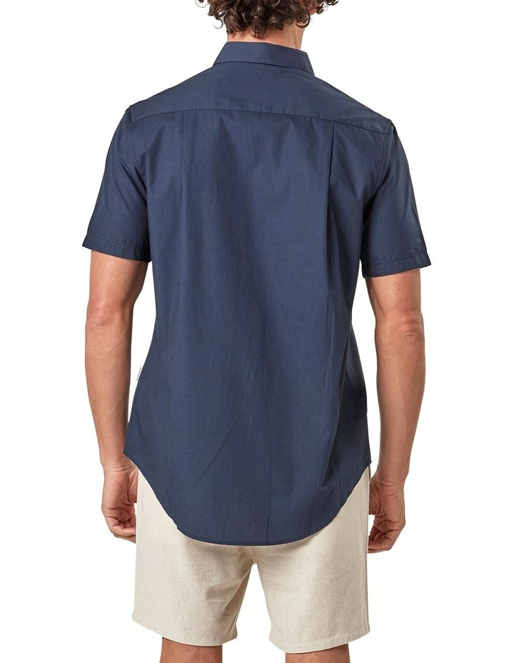 Short Sleeve Engineered Stripe Shirt image 2