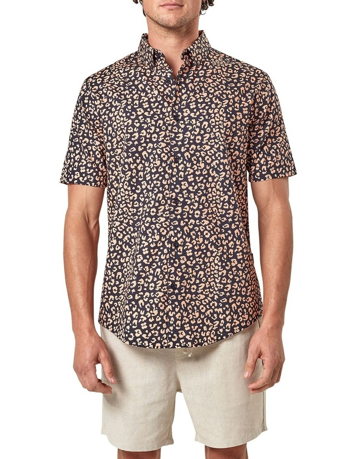 Leopard Print Short Sleeve Shirt image 1