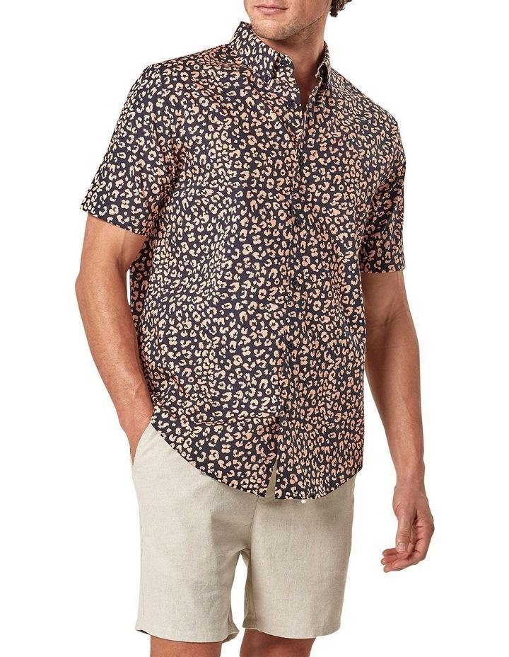Leopard Print Short Sleeve Shirt image 3