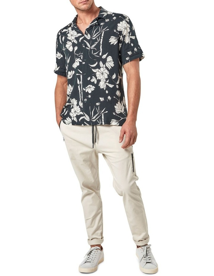 Solace Floral Camp Collar Short Sleeve Shirt image 2