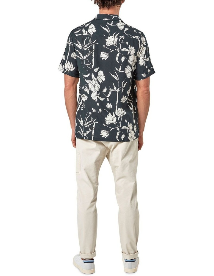 Solace Floral Camp Collar Short Sleeve Shirt image 5