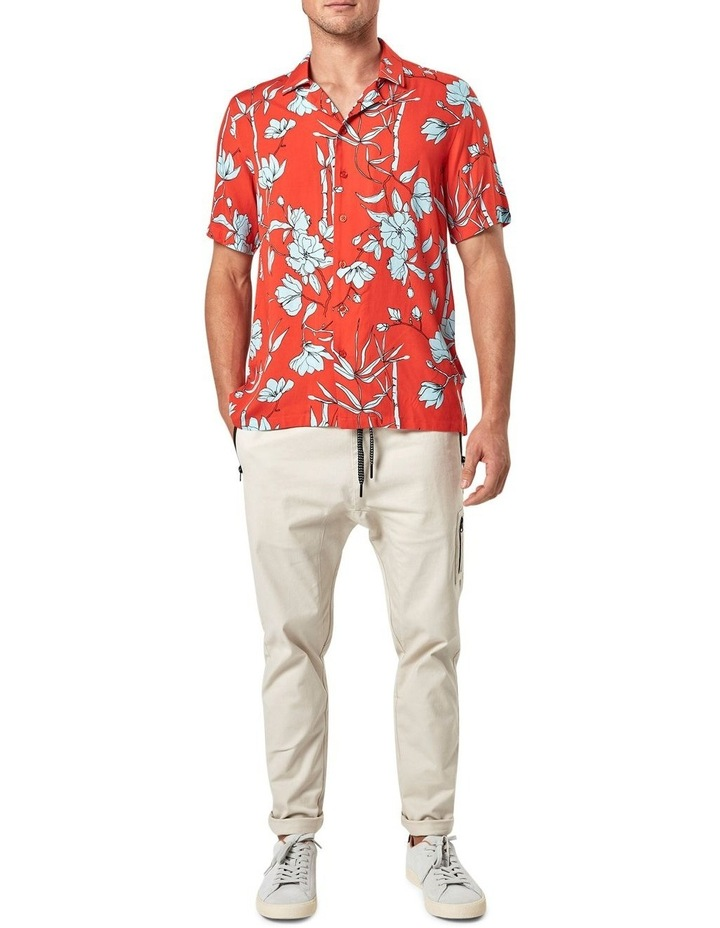 Solace Floral Camp Collar Short Sleeve Shirt image 1