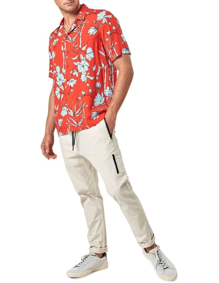 Solace Floral Camp Collar Short Sleeve Shirt image 3