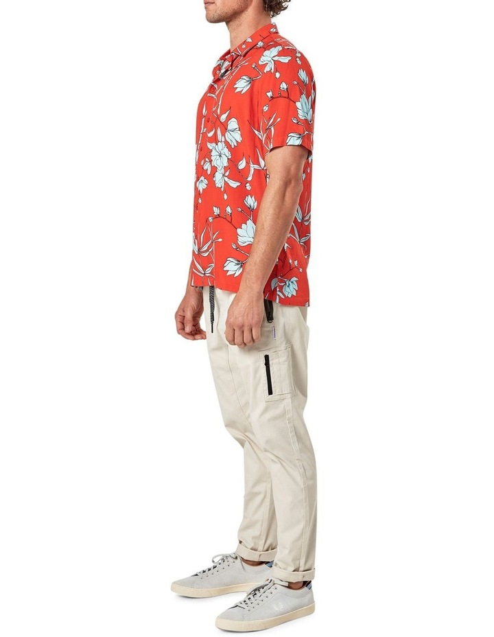 Solace Floral Camp Collar Short Sleeve Shirt image 4
