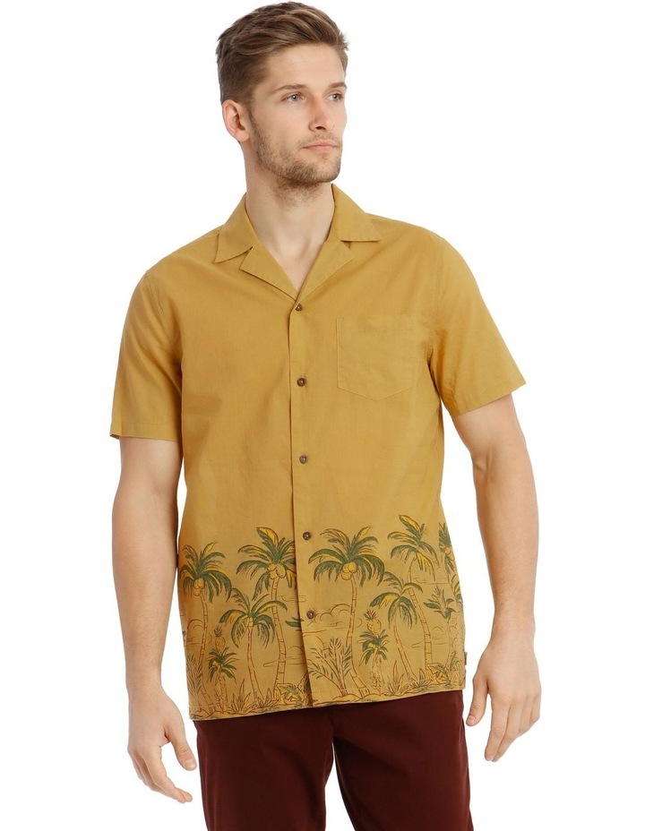 Greenery Short-Sleeve Shirt - Gold image 1