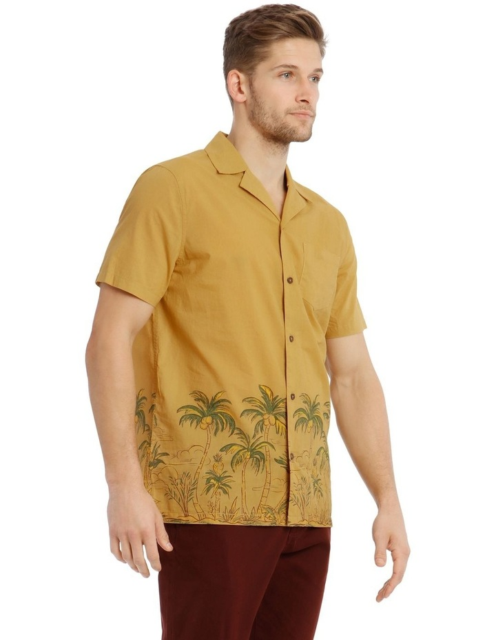 Greenery Short-Sleeve Shirt - Gold image 2