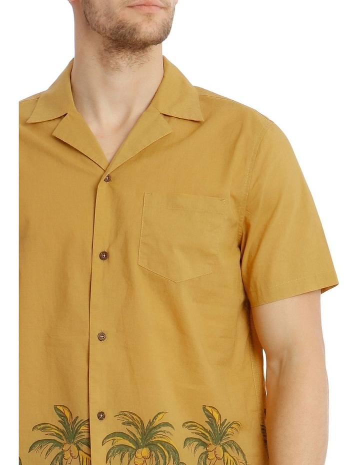 Greenery Short-Sleeve Shirt - Gold image 4