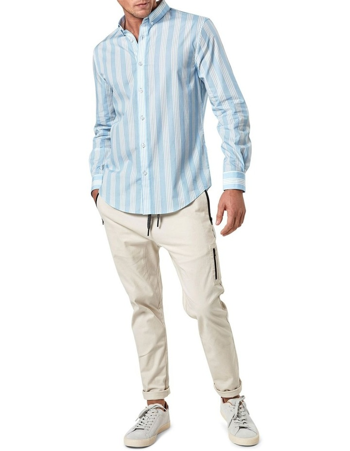 Long Sleeve Vertical Stripe Shirt image 1