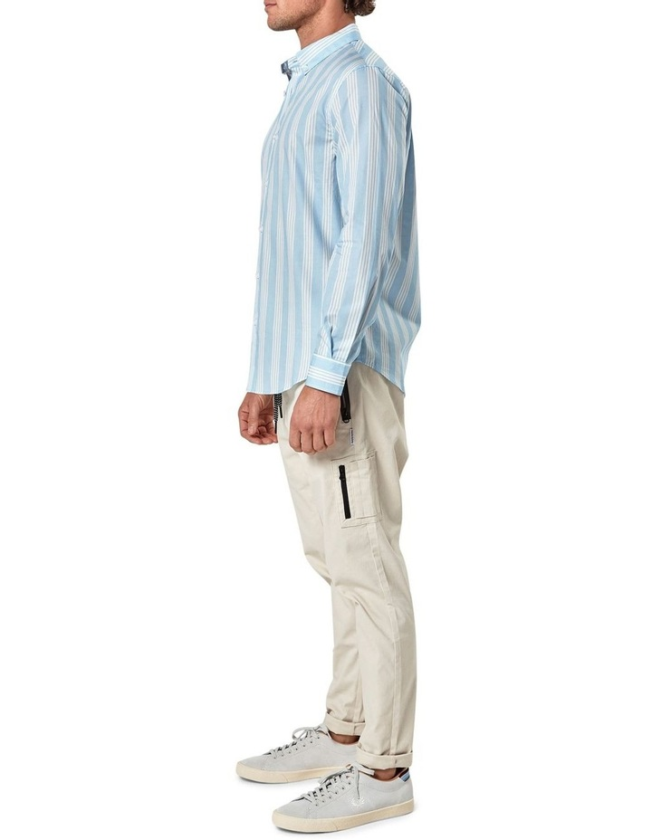 Long Sleeve Vertical Stripe Shirt image 3