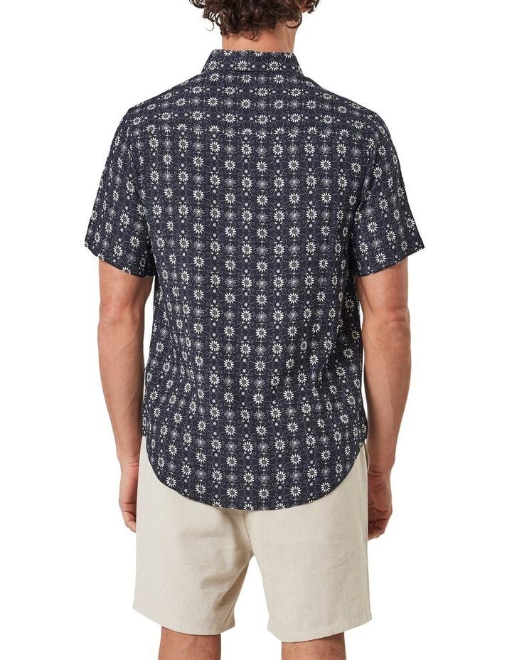 Floral Pattern Camp Collar Short Sleeve Shirt image 2