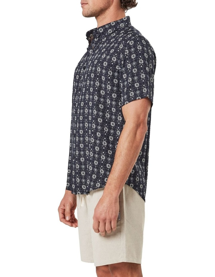 Floral Pattern Camp Collar Short Sleeve Shirt image 4