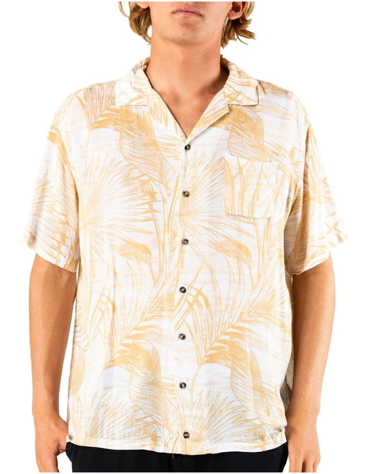 Palms Up Short Sleeve Rayon Shirt image 1