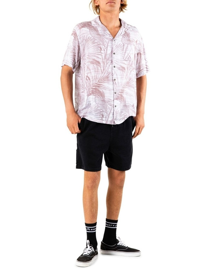 Palms Up Short Sleeve Rayon Shirt image 5