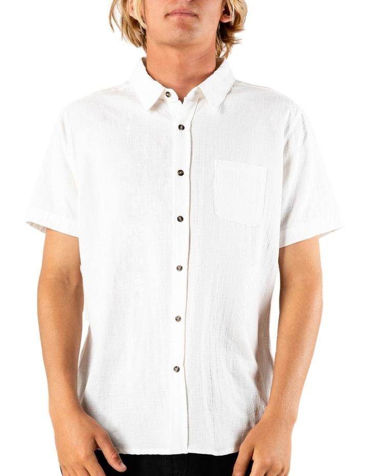 Overtone Short Sleeve Linen Shirt image 1