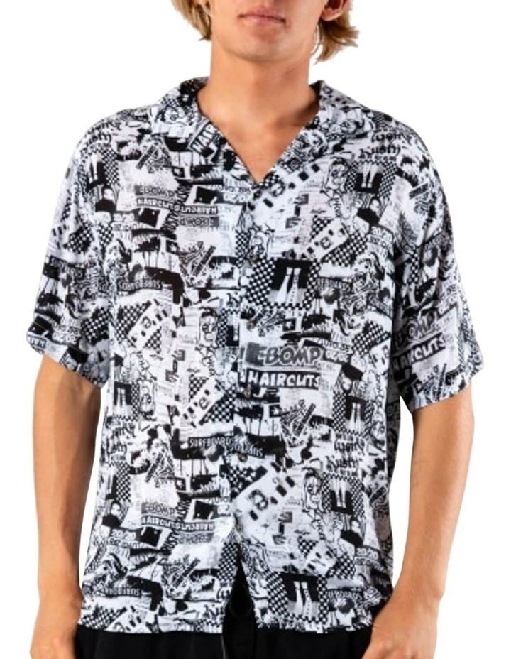 Flick Knife Short Sleeve Rayon Shirt image 1