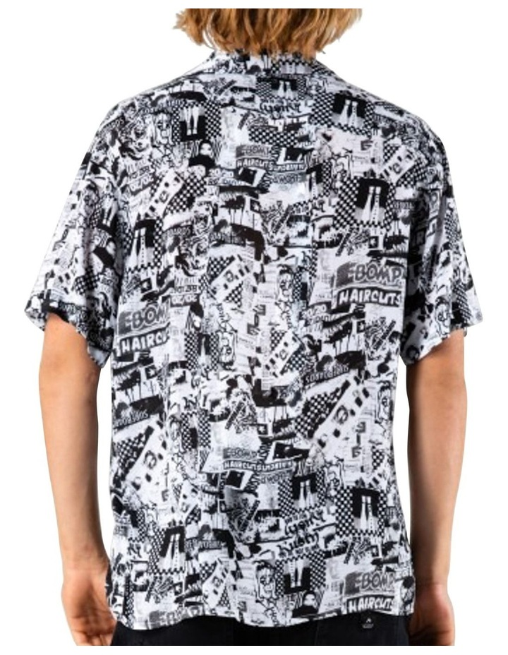 Flick Knife Short Sleeve Rayon Shirt image 2